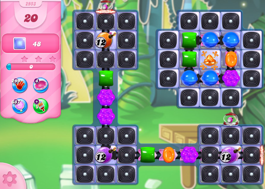 Candy Crush Saga level 2953