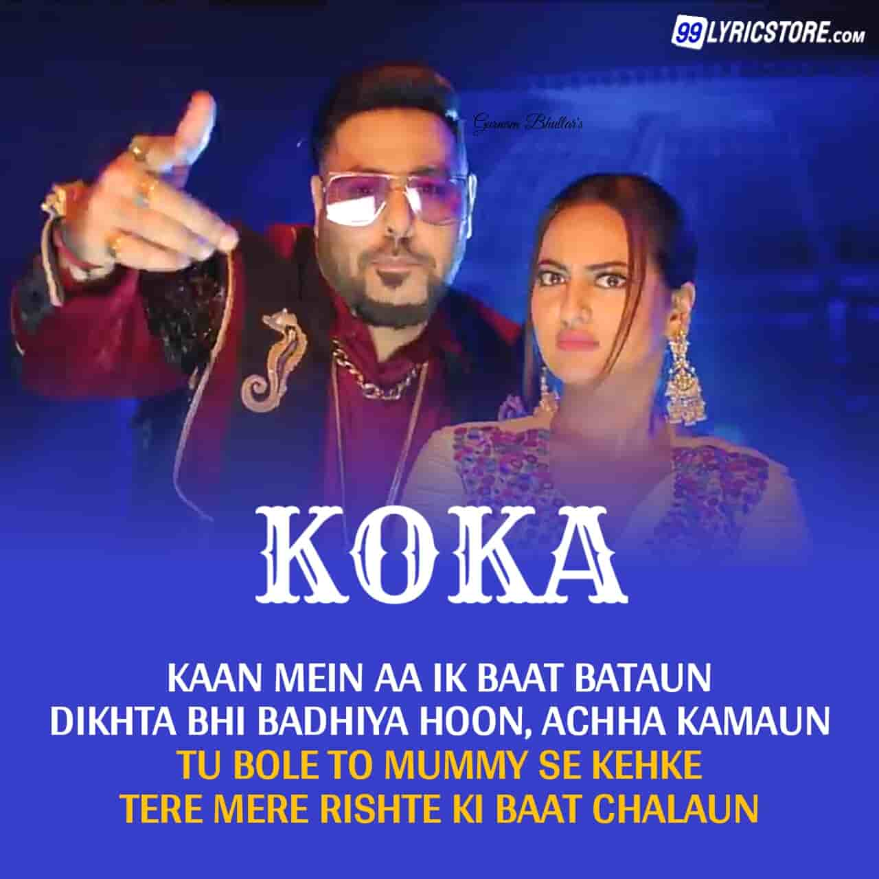 Koka hip hop song sung by badshah from movie Khandaani Shafakhana