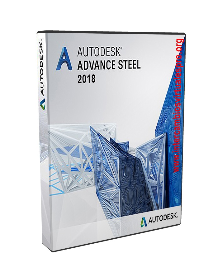 Autodesk Advance Steel 2018 poster box cover