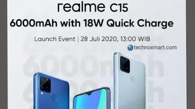Realme C15 Is Set To Launch For July 28 With 6000mAh Battery, Quad Rear Cameras: Check All Details Here
