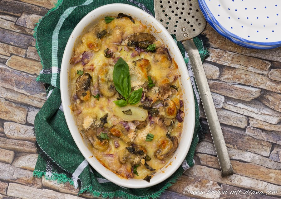 Kartoffel-Pilze Auflauf