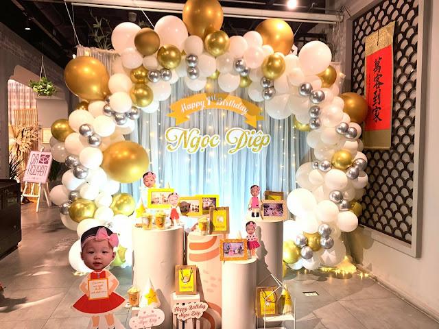 Thuê trang trí sinh nhật cho bé tại nhà
