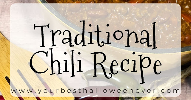 Traditional Chili Recipe