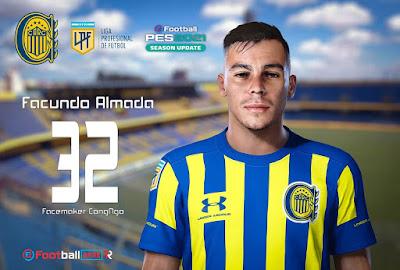 PES 2021 Faces Facundo Almada by CongNgo