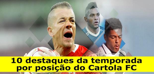 Confira 10 destaques por posição no Cartola FC 2018