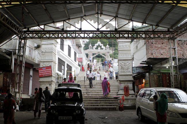 Steps Leading To Sri Jwala Ji Temple