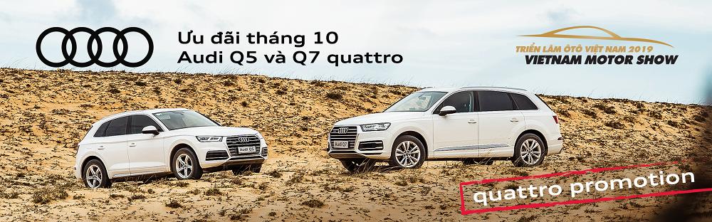 Audi Việt Nam ưu đãi hàng trăm triệu đồng cho khách mua Q5 và Q7