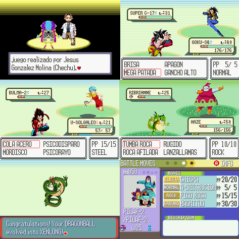 Pokemon Dragon Ball GBA ROM Download