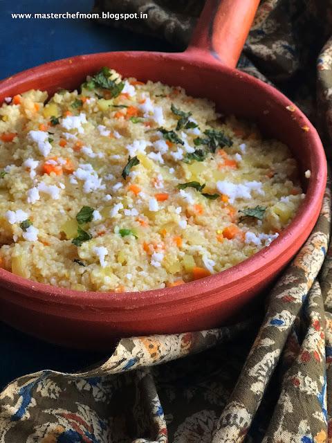 Godhumai Rava Upma Recipe
