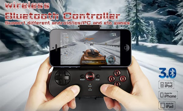 Controle Ípega PG-9017 para Android, Iphone, Review e driver