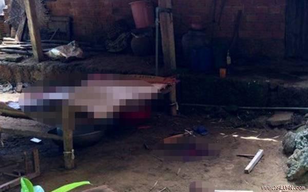 Gia Lai: Chém chết bố mẹ vợ, rồi chém em vợ bị thương nặng sau đó tự tử