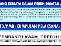 Jawatan Kosong di Pejabat Setiausaha Kerajaan Negeri Perlis - Kelayakan SRP / PMR / PT3