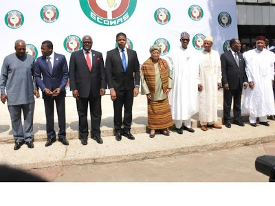 Buhari hosts ECOWAS leaders in Abuja, calls for review of Treaty