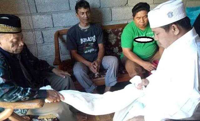 Pria di Manado Wafat 4 Jam Setelah Jadi Mualaf dan Diberi Nama Islami