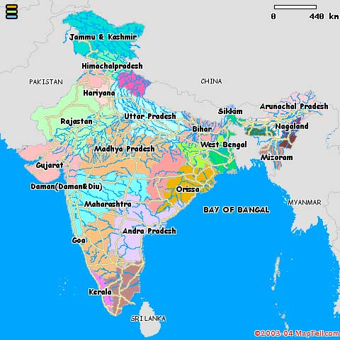 Carte Inde Maps.The Incredible India Tour Information About India Tourism