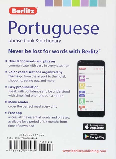 Berlitz Phrase Book & Dictionary Portuguese