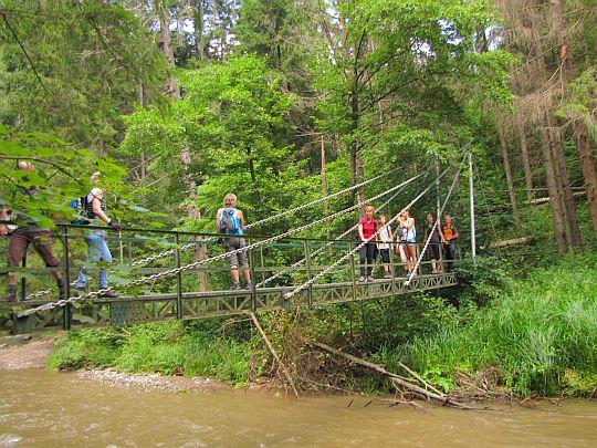 Retažový most.