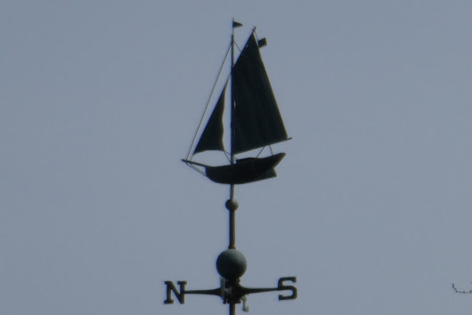 Weathervane Wednesday ~ Over the Police Station