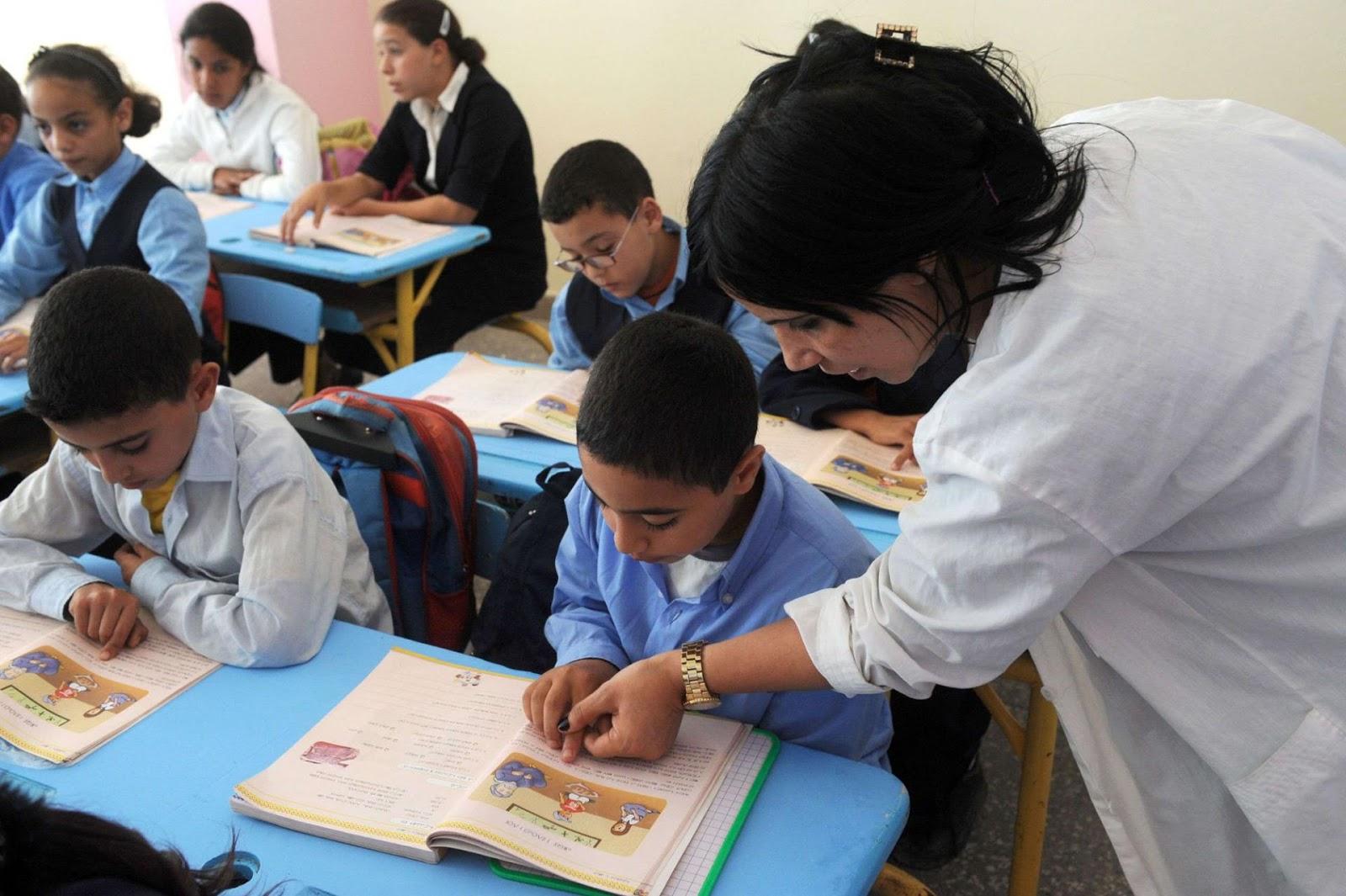 دوو الاحتياجات الخاصة خارج اقسام الدراسة فين هدوك لكيهضرو على تحية الاطر التربوية والمسؤولين على التعليم
