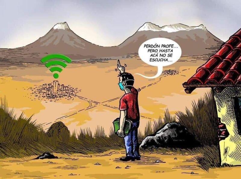 Familias exigen fiscalizar antena de internet en San Pablo