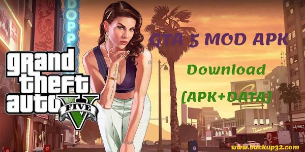 تحميل لعبة GTA 5 MOD APK احدث اصدار 2021 APK + OBB