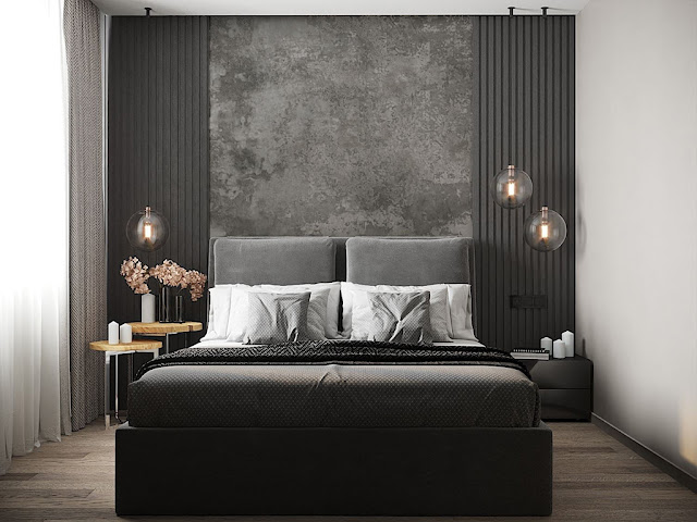 Thiết kế và thi công hoàn thiện nội thất căn hộ chung cư Eco Green Sài Gòn - Phòng Ngủ 1