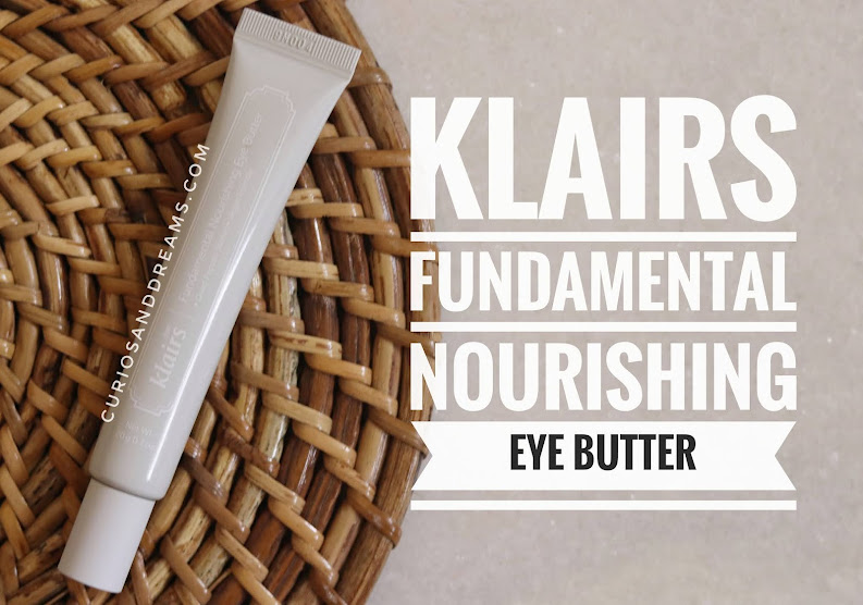 Klairs Fundamental Nourishing Eye Butter, Klairs Eye cream, Klairs india