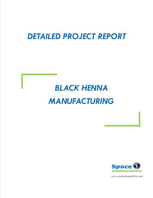 Project Report on Black Henna Manufacturing