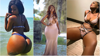 Meet Tanzanian model who has the biggest booty in Africa! (Photos)