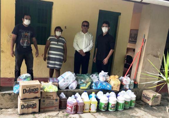 PF Solidária entrega donativos ao Abrigo São José em Parnaíba, litoral do Piauí