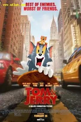 فيلم tom and jerry 2021 مترجم اون لاين