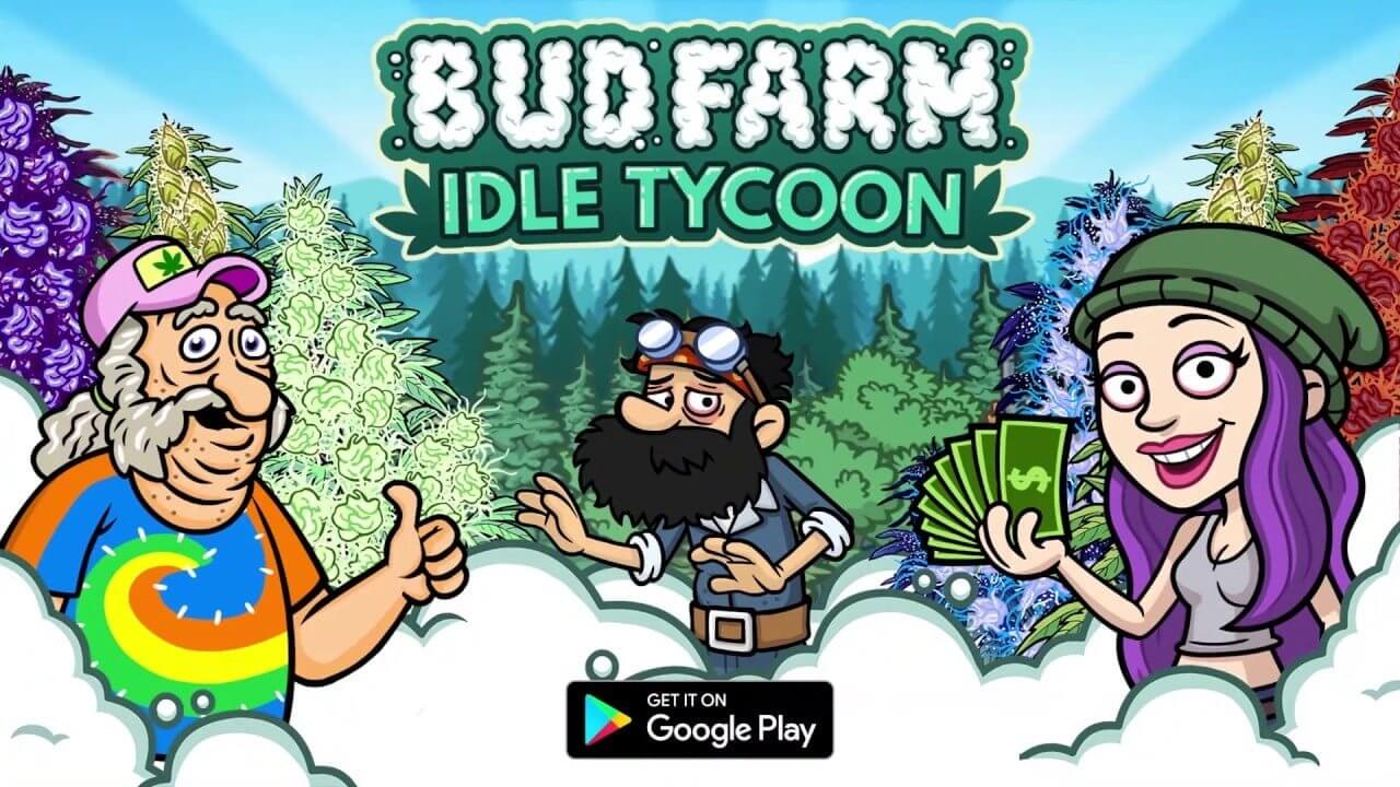 Bud Farm: Idle Tycoon هي لعبة تحاكي الزراعة البستانية بهدف أن تصبح ملياردير