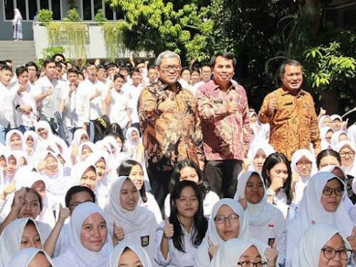 Kunjungan Gubernur Jabar ke SMAN 1 Bogor