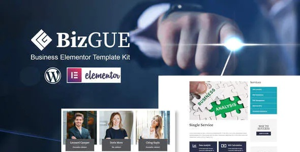 Best Business Elementor Template Kit