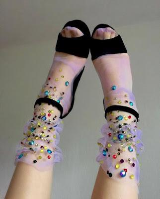 Como usar meias no verão