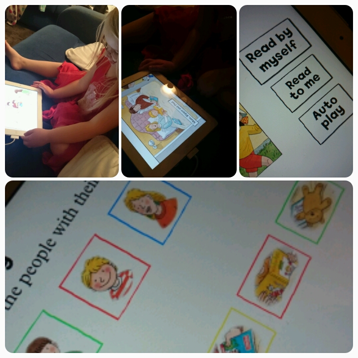 using the biff, chip and kipper app