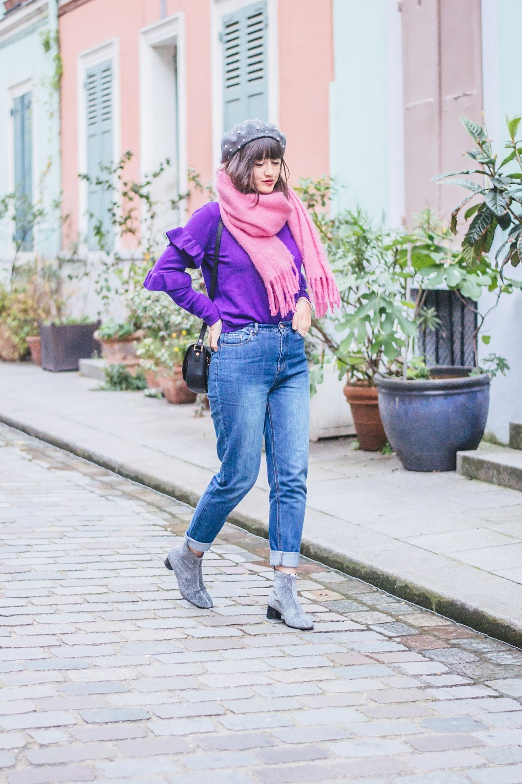 meetmeinparee - Purple Sweater and Vibrant Homes