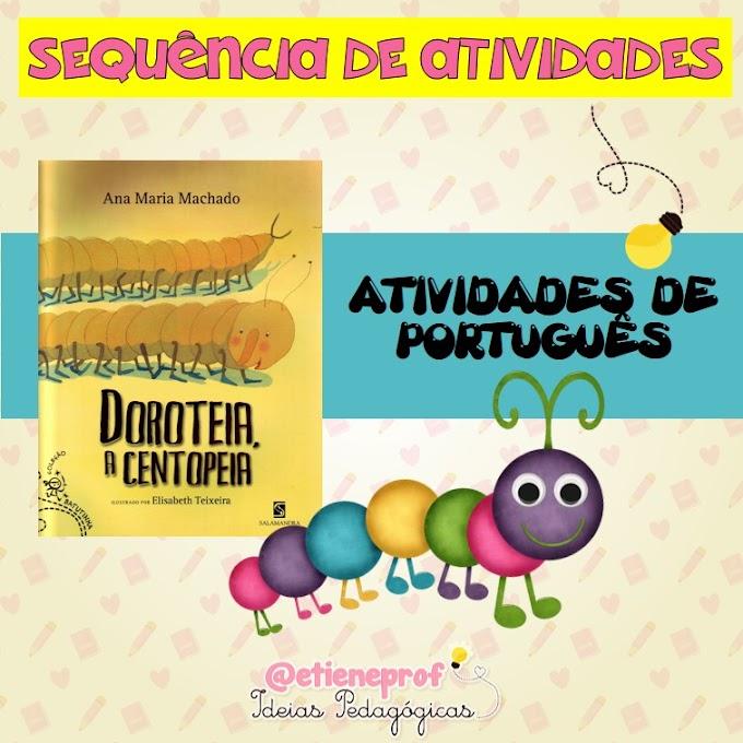 LIVRO: DOROTEIA, A CENTOPEIA - ATIVIDADES