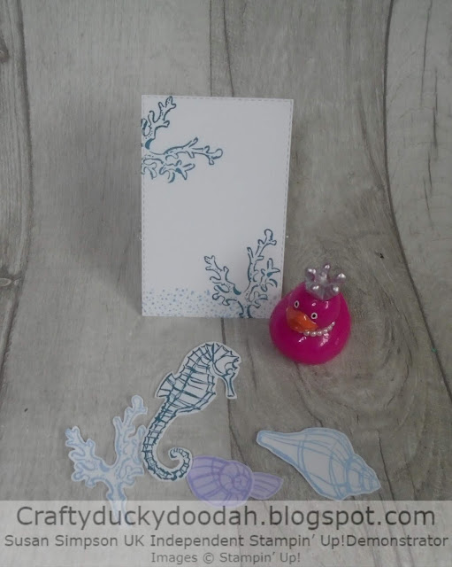 Craftyduckydoodah!, Seaside Notions, Stampin' Up! Susan Simpson UK Independent Stampin' Up! Demonstrator, Supplies available 24/7 from my online store,Stitched Rectangles Dies,