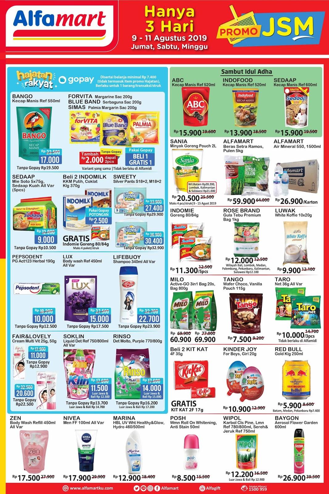 Katalog Harga Promo Alfamart Jsm Minggu Ini Terbaru