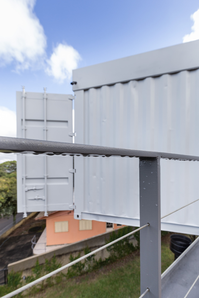 Casa Conteiner RD - 350 sqm Two Story Shipping Container Home, Brazil 5