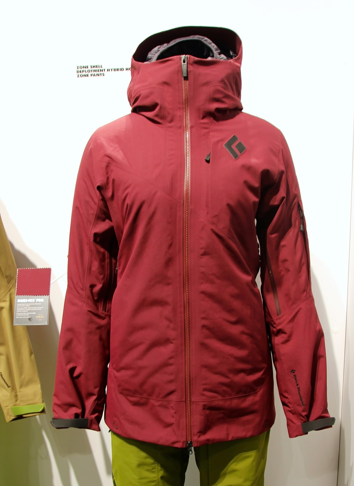 1221403c213 Black Diamond women s Zone Shell  649.00 (w Zone Pants  499.00)for women---in  Merlot. Gore-Tex® 2L top-of-the-line ski jacket insulated w  Primaloft®  Silver ...
