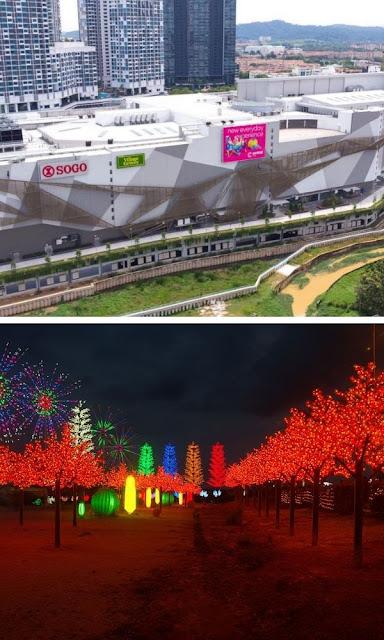 i-City taman tempat beli belah