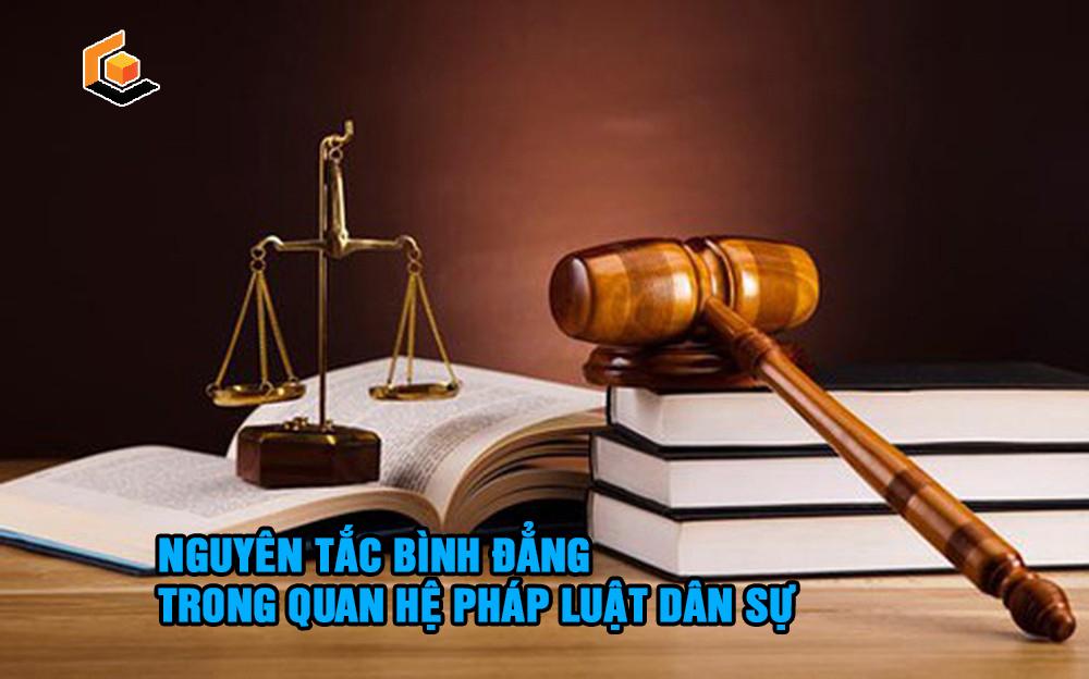 Nguyên tắc bình đẳng trong pháp luật dân sự quy định