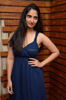 Radhika Mehrotra in a Deep neck Sleeveless Blue Dress at Mirchi Music Awards South 2017 ~  Exclusive Celebrities Galleries 060.jpg