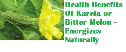 Health Benefits Of Karela or Bitter Melon - Energizes Naturally