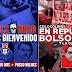 """Bolsonaro é recebido com protestos de torcedores no Chile. """"Fascista!"""""""