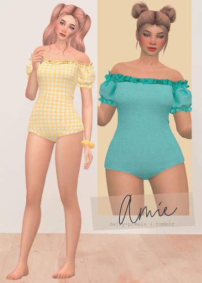 - ̗̀ Amie Swimsuit ̖́- (ts4)