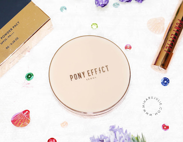 review memebox pony effect skin fit powder pact