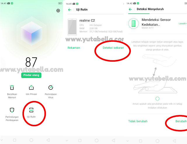 How to hardware test Realme